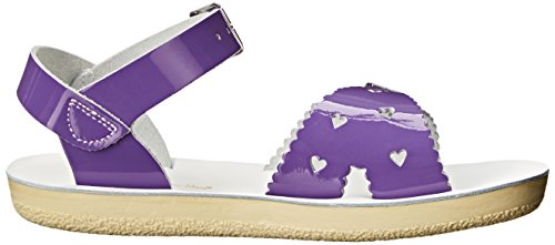 Water Shiny Sweetheart Child Flat Sandals Purple Salt Kid's dwFSgq