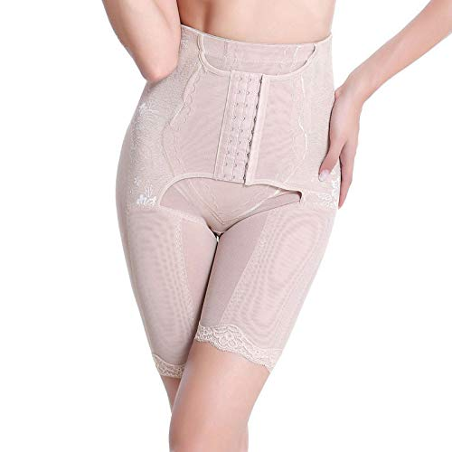 Yoyorule Fashion Shapeware Underwear Women's Body Shaping Pants Control Slim Stomach Corset Shapeware Body Sculpting Beige]()