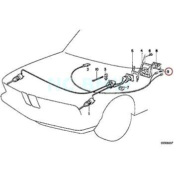Amazon Com Bmw Genuine Retaining Spring For Bulb H7 Automotive