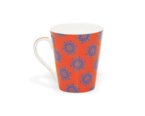 Clay Craft Zing 394 Bone China Milk Mug, 350ml/6cm, Multicolour