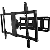 InstallerParts 60-100 TV Wall Mount – Swivel/Tilt – LCD LED TV Monitor Flat or Curved Panel Screen – VESA Mount