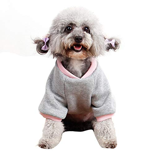 Hpapadks Lollipop Print Pet Clothes ,Winter Casual Pet Dog Clothes Warm Hoodie Coat Jacket Clothing Cheap Dog Sweaters -
