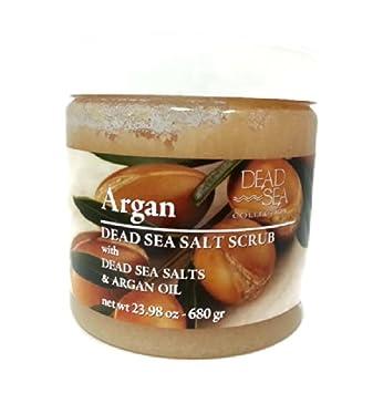 DEAD SEA COLLCECTION Argan Dead Sea Salt Scrub with Dead Sea Salts & Argan Oil by