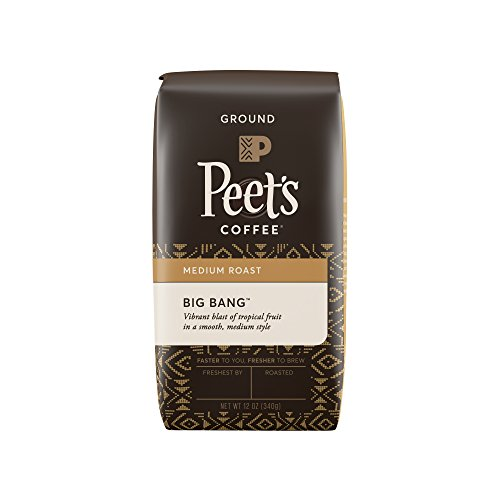 Peet's Coffee Big Bang Territory Coffee Medium Roast Bag, 12 Ounce