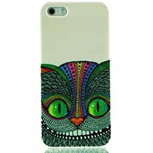 DUR Green Eyes Owl Pattern Hard Case for iPhone 5/5S