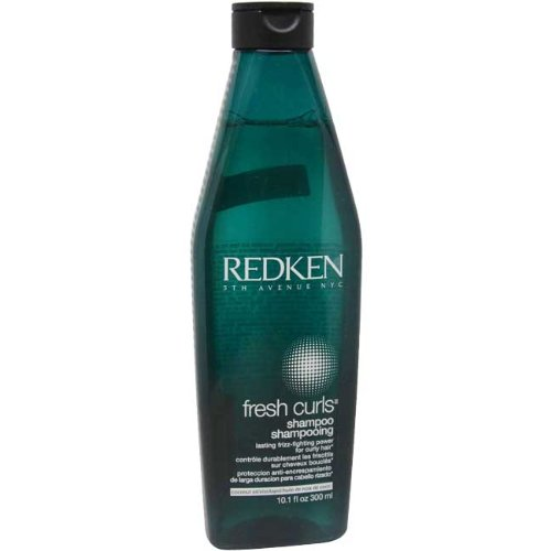Redken Fresh Curls Shampoo for Curly Hair, 10.1-Ounce Bottles (Pack of 2)