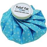 "Relief Pak 11-1061 English Ice Cap Reusable Ice Bag, 9"" Diameter"