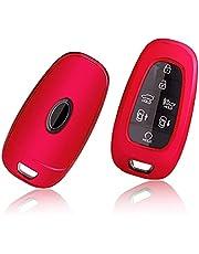 GAFAT Hyundai Tucson NX4 / Ioniq 5 / Nexo/Sante Fe 2021 Sleutelhoes Beschermhoes, Autobediening Beschermhoes, TPU Silicagel Autosleutel