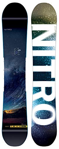 Nitro Snowboards Team Exposure Gullwing Snowboard, Men, Mens, 830334_Multicolor_159, Multicoloured, 159 ()