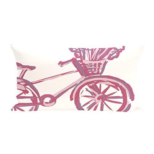 E By Design La Bicicleta Geometric Print Outdoor Seat Cus...