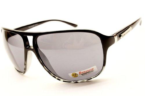 Bz107 Turbo Aviator Biohazard Fashion Sunglasses Mens (black tortoise, gradient)