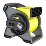 Stanley 655704 High Velocity Blower Fan, Yellow