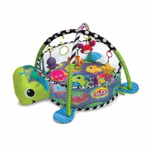 New GROW WITH ME ACTIVITY GYM PLAY MAT and BALL PIT Baby Toddler Tummy Time Play NEW