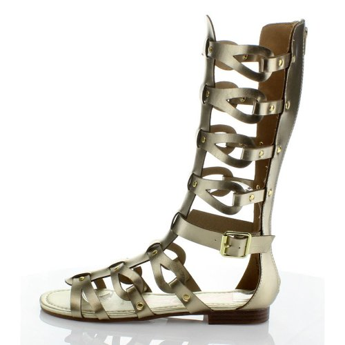 Anna Womens Glad-1 Gladiator Sandals Gold mUny2R