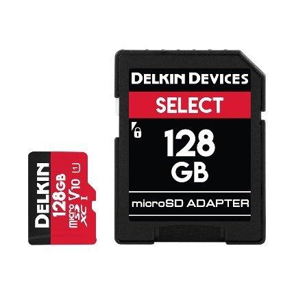 - Delkin 128Gb Compact Flash Memory Card 1050x [DDCFB1050128]