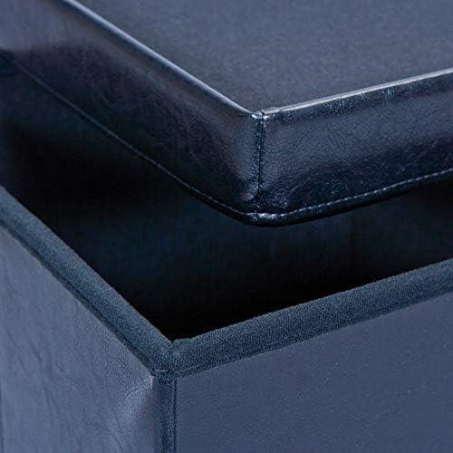 Inter Link Lolly A1 caj/ón Textil Polipropileno 32 x 32 x 31 cm 32 x 32 x 32H cm Azul sinti/ó