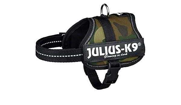 Julius-k9 Arnés de Energía 0 / M-l 58-76 Cm, Camo, Trixie, Nylon ...