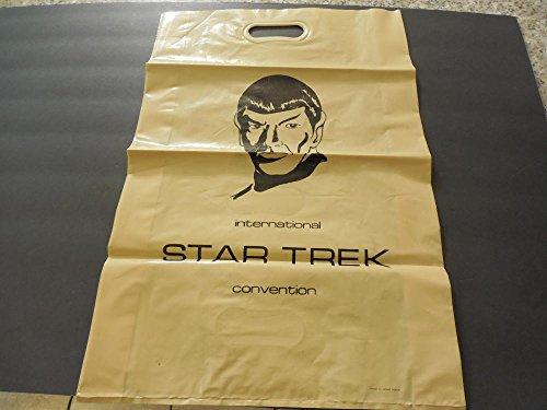 Plastic Tote Bag Star Trek International Convention Spock Unknown Date