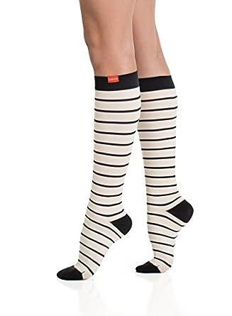 89ac3d410e Image Unavailable. Image not available for. Color: VIM & VIGR Women's 15-20  mmHg Compression Socks: ...