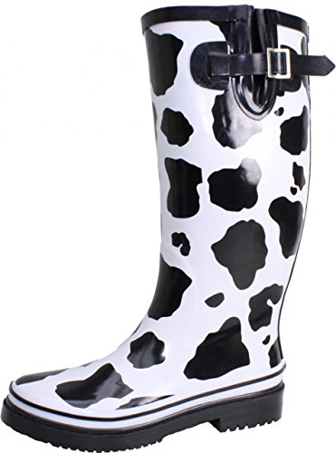Bockstiegel Wo Cow Print Rain Boots 2sXc69mlIW,