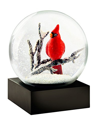 CoolSnowGlobes	Cardinal Singing Snow Globe by CoolSnowGlobes®