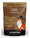 Cheap GivePet The Ranch Hand Pet Treats Bacon, Baked Potato & Carrot Flavor in 12 oz Bag