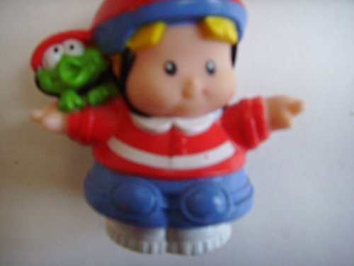 Fisher Price Little People Eddie with Helmet Skateboarding Replacement Figure