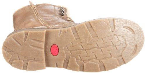 XTI Damen Stiefel mid/Leder XTI24919AU11 - Botas de cuero para mujer Marrón (Braun/Taupe)