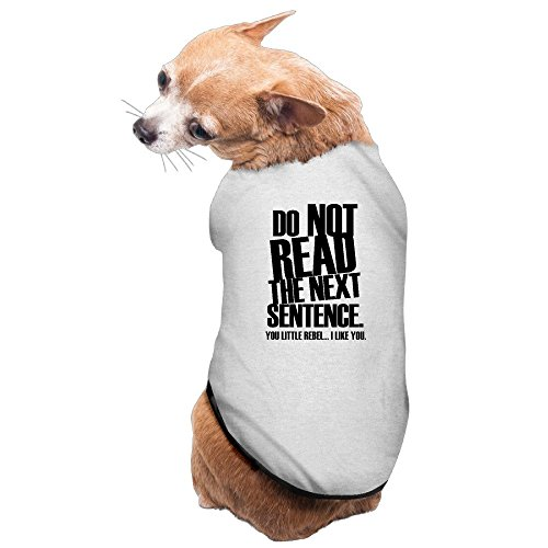DON'T READ THE NEXT SENTENCE. You Little Rebel. Dog Costumes New Pajamas Pet Supplies Online Pet (Online Costume Stores)