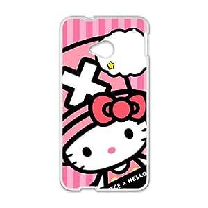 KKDTT Hello kitty Phone Case for HTC One M7 case