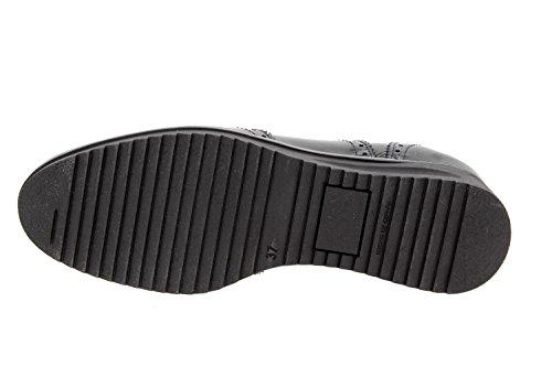 Scarpe Comfort Donna condoncino Comfort Larghezza PieSanto Pelle Speciale con Scarpe Negro 9621 15EwqXW