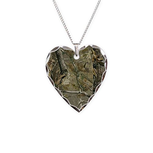 CafePress - Realtree Camo Necklace - Charm Necklace with Heart -