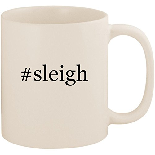 #sleigh - 11oz Ceramic Coffee Mug Cup, White