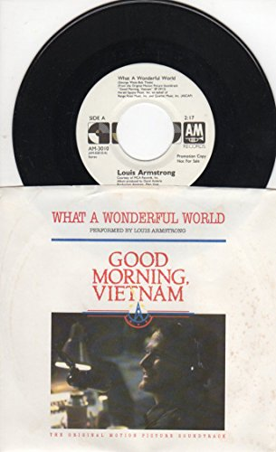 Louis Armstrong: What a Wonderful World B/w What a Wonderful World