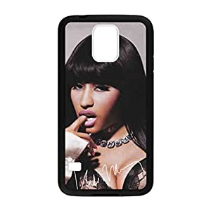 Nicki Minaj Sexy Nicki Pattern Image Case Cover Hard Plastic Case for Samsung Galaxy S5 i9600 Regular