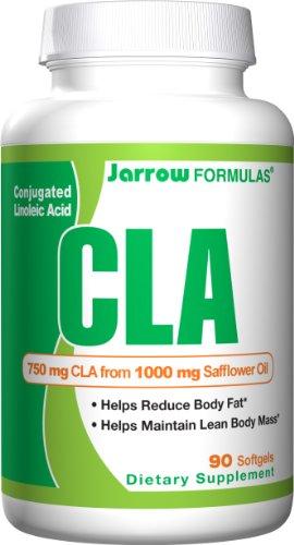 Jarrow Formulas acide linoléique conjugué (CLA), 750 mg, 90 gélules