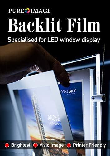 A3 50 hojas papel impresoras láser iluminación película para ...