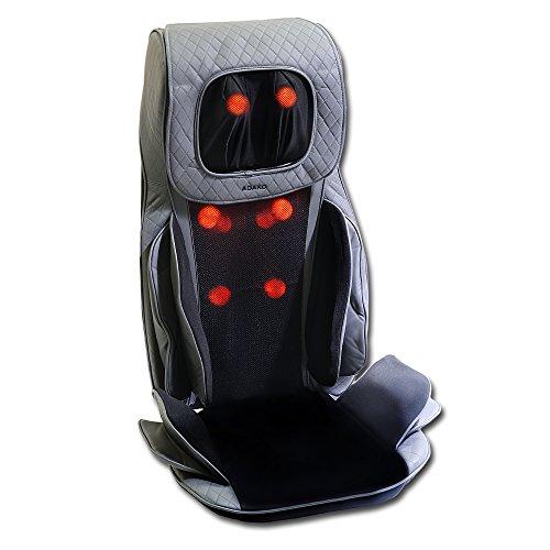 Adako Anywhere Seat Topper Massager Shiatsu Massaging Heating [NEW MODEL] (Select Massaging Cushion Therapist Shiatsu)