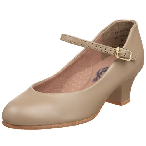 Capezio Jr. Footlight 550X Character Shoe ,Tan,3.5 M US Big