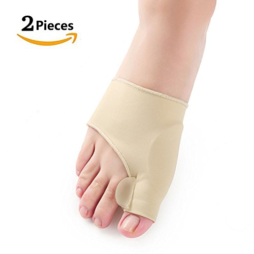 Bunion Corrector & Bunion Relief Protector Sleeves Kit, Bunion Toe Straightener with Gel Toe Separator, Hallux Valgus Pain Relief and Big Toe Alignment, 2 Pieces – DiZiSports Store