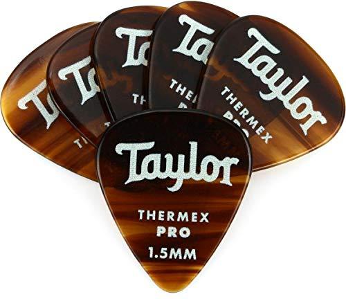 Taylor Premium Darktone 351 Thermex Pro Guitar Picks 6-pack - Tortoise Shell 1.50mm