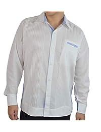 BOLTON TAILOR Guayabera para Hombre Estilo Presidencial