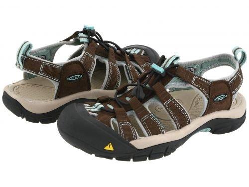 Keen(キーン) レディース 女性用 シューズ 靴 サンダル Newport H2 - Slate Black/Canton 9.5 B - Medium [並行輸入品]