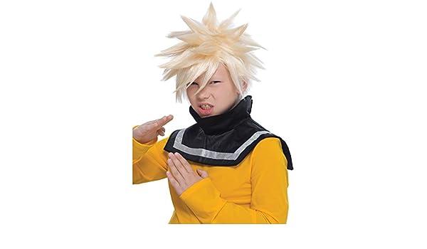 Peluca Rubia de Goku de Dragon Ball Z Para Niños: Amazon.es: Ropa y accesorios
