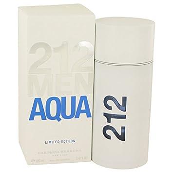 0139f133be Carolina Herrera 212 Men Aqua - Eau de Toilette Spray - 100 ml:  Amazon.co.uk: Beauty