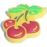 Cherries Shoe Snap Charm Jibbitz Croc Style