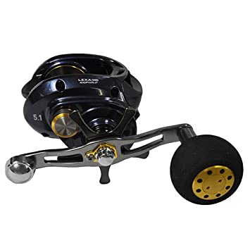 Daiwa Lexa Hyper Speed 6CRBB, 8.1 1 Right Hand Power Handle Baitcast Fishing Reel – LEXA-HD400XS-P