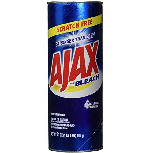 Ajax All-Purpose Powder Cleaner With Bleach 21 oz ( Pack of (Ajax All Purpose Cleaner)