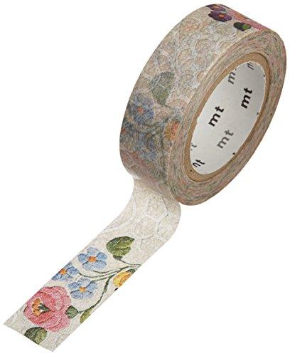 MT Washi Masking Tape, Lace Kalocsa, 15mm x 10m (MTEX1P105)