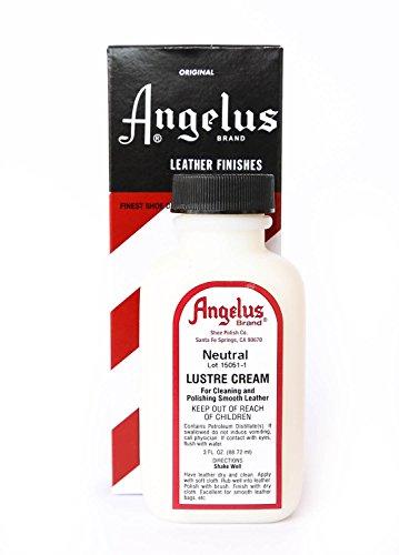 Angelus Leather Lustre Cream - 3 Ounces, Neutral
